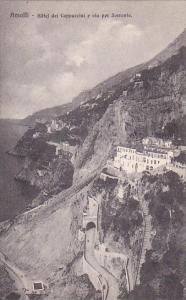 Italy Amalfi Hotel dei Cappucini e via per Sorrento