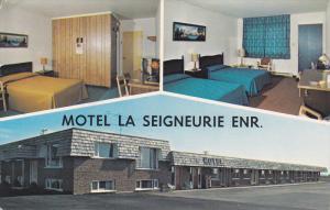 3-Views, Motel La Seigneurie Enr. St. Jean Port-Joli, Province of Quebec, Can...