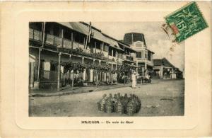 CPA MAJUNGA Un coin du Quai MADAGASCAR (709606)