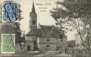 austria, WIEN VIENNA, Dornbach, Kirche Church (1925) Stamps