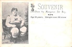Hungarian Fat Boy 18 years old weight over 30 stone Unused
