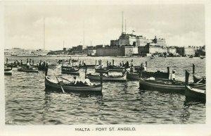MALTA FORT ST ANGELO boats rppc