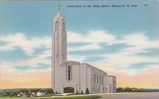 North Dakota Bismark Cathedral Of The Holy Spirit