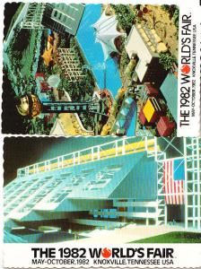 The 1982 World's Fair - Knoxville - Two Cards