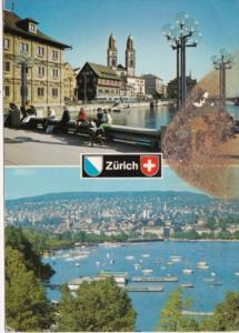 Switzerland Zurich Totalansicht