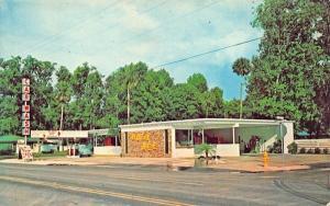 Daytona Beach FL The Busy Bee Automatic Car Wash Gas Station VW Postcard