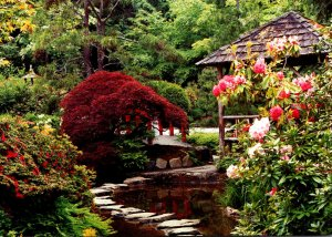 Canada British Columbia Victoria Butchart Gardens The Japanese Garden