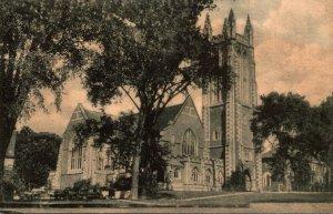 Massachusetts Williamstown Thompson Memorial Chapel Albertype