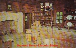 Second Berry Lincoln Store New Salem State Park Lincoln New Salem Illinois