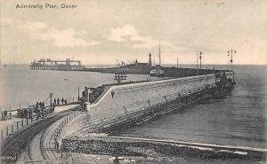England Dover, Admiralty Pier, Railway  1905