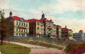 Ohio Cincinnati University Of Cincinnati 1907