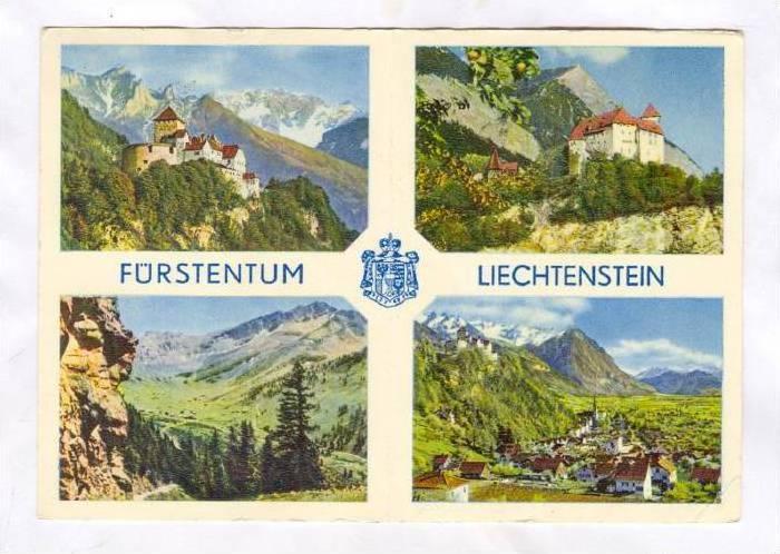 4-Views, Furstentum, Liechtenstein, PU-1962