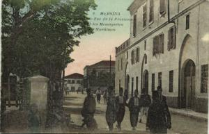 turkey, MERSIN MERSINA, Grande-Rue de la Promenade, Messagerie Maritime (1910s)