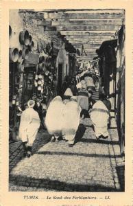 Tunisia Tunis Le Souk des Ferblantiers Postcard