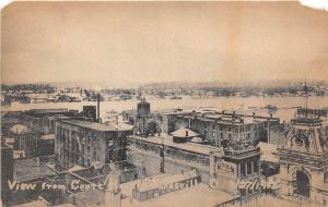 D75/ Zanesville Ohio Postcard 1913 Court House Flood Disaster River