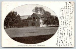 Grinnell Iowa College~Rand Women Gymnasium~Grace Got 2nd Grade Certificate~1907