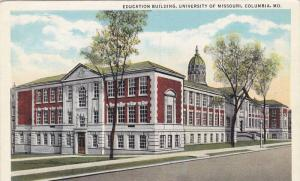 Exterior,  Education Building,  University of Missouri,  Columbia,  Missouri,...