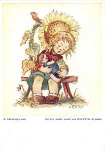Ihr Lieblingsplaetzchen Mit dem Munde gemalt von Arnulf Erich Stegmann