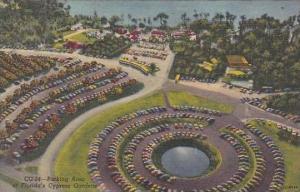 Florida Cypress Gardens Parking Area At Floridas Cypress Gardens