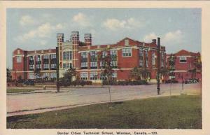 Border Cities Technical School, Windsor, Ontario, Canada, 1930-1940s