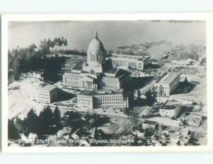Pre-1950 rppc NICE VIEW Olympia Washington WA W0275