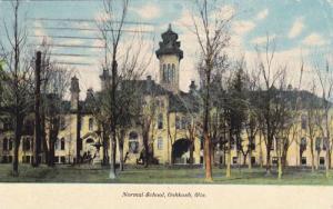 Exterior,Normal School,Oshkosh,Wisconsin,PU-1910