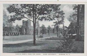 North Carolina Durham Campus North From The Union Duke University Albertype