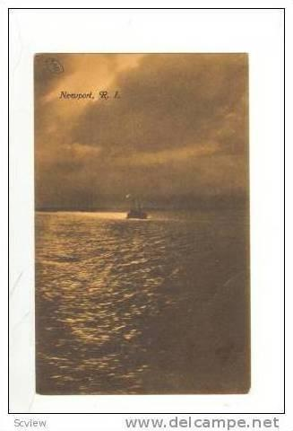 Steamships at Dusk, Newport, Rhode Island, 00-10s