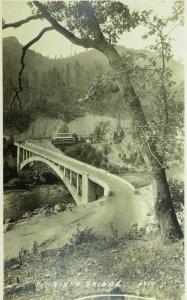 C.1910 RPPC Pit River Bridge, Cal. Vintage Postcard P106