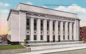 Tennessee Nashville Tennessee Supreme Court Building