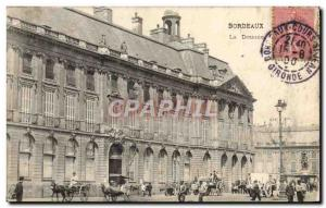 Postcard Old Customs Customs Customs Customs The Bordeaux