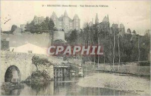 Postcard Old Bressuire view of Chateau