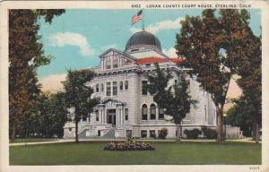 Logan County Court House, Sterling, Colorado,PU-00-10s