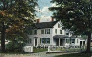 Birthplace of Rev. D. L. Moody East Northfield MA 1910