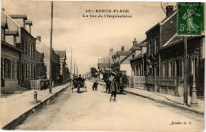 CPA  Berck-Plage - La Rue de l'Impératrice    (76748)