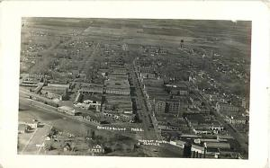 RPPC Air View of Scottsbluff Nebraska NE