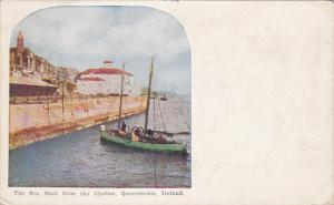 The Sea Wall From The Harbor, Queenstown, Ireland, PU-1909