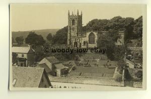 tp8061 - Unknown Location - View of an Old Village Church- Postcard