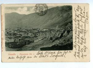 171813 CHILE Tocopilla panorama #2 Vintage real post postcard