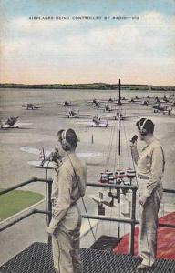 Airplanes Being Controlled By Radio, 1930-1940s
