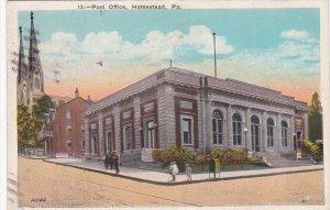 HOMESTEAD, Pennsylvania; Post Office, PU-1924