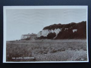 Kent KINGSDOWN The Cliffs c1930's RP Postcard