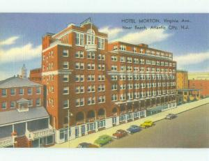 Linen MORTON HOTEL Atlantic City New Jersey NJ HQ4086