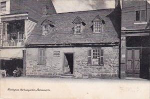 Virginia Richmond Washington's Old Headquarters 1906