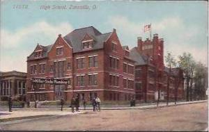 OH Zanesville High School 1915