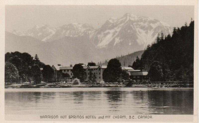 RP: Harrison Hot Springs Hotel and Mt. Cheam , B.C. , 30-40s