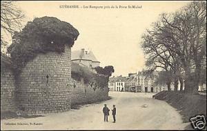 france, GUERANDE, Remparts pres Porte St-Michel (1910s)