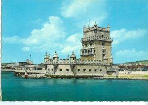 Portugal, Lisbon, Lisboa, Tower of Belem, unused Postcard