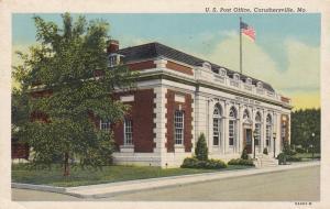 CARUTHERSVILLE, Missouri, 1910-1920s; United States Post Office