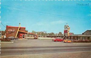 Canada, Ontario, Cornwall, Anchor Motel & Steak House, Dexter Color No. 13707-C